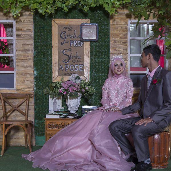 Wedding Edo dan Aisha